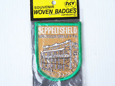 VINTAGE SEPPELTSFIELD BAROSSA VALLEY EMBROIDERED SOUVENIR PATCH WOVEN SEW BADGE