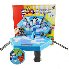 Penguin Trap Ice Breaker Kids Puzzle Interactive Family Table Knock Game