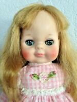"""Vintage Vogue's Original 14"""" Littlest Angel Doll Original Tagged Dress"""