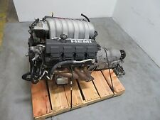 Dodge 6.1L Hemi SRT8 Engine Complete Pullout with Auto Transmission 96k