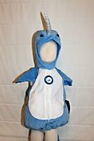 Baby Infant Toddler Boutique Narwhal Costume Halloween Unicorn Whale Kids NEW