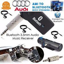 "For VW Audi A3 A4 A5 Q5 Q7 **BLUETOOTH"""" WIRELESS  AMI MMI Interface 3.5mm AUX"