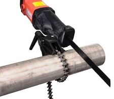 heavy duty reciprocating demolition sabre saw electric power tool  pipe vice