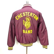 Vtg Chesterton, IN Band Jacket Mens Medium CHS Music Gem Sportswear Coat School