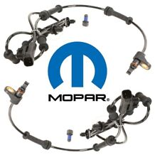 For Jeep Wrangler Pair Set of Front Left & Right ABS Wheel Speed Sensor Mopar