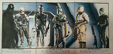 Topps STAR WARS 1/1 Galactic Files ARTIST RETURN 3x Sketch Card Set GARY KEZELE