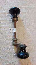 Poignées anciennes désaxées, MEL, bouton rond/serrurerie de château/manoir. B65