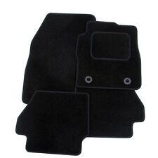Perfect Fit Black Carpet Car Floor Mats for Citroen C3 Picaso (09 >) - Heel Pad