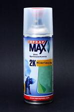 2K-Klarlack Lackspray hochglänzend 400ml benzinfest und UV beständig /E0002