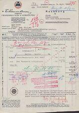 OFFENBACH (MAIN), Rechnung 1944, Fabrik führender Fein- u Kern-Seifen C. Naumann