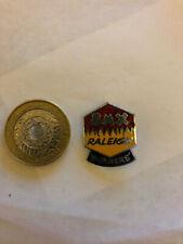 Vintage Raleigh Burner Enamel Badge