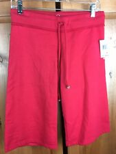 NWT ($95) Twisted Heart Size Small Red Shorts