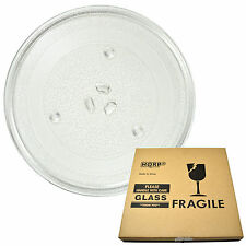 HQRP 10-inch Glass Turntable Tray for GE WB49X0688, WB49X10065 Microwave Plate