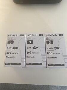 3 Led Dimmable  60W Bayonete Light Bulbs
