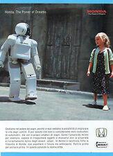 CIAK001-PUBBLICITA'/ADVERTISING-2001- HONDA ASIMO