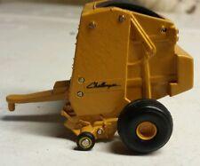 1/64 custom agco caterpillar cat challenger round baler hay straw ertl farm toy