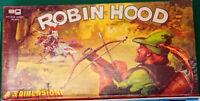 Robin Hood EG Gioco da Tavolo 3 Dimensioni RARO Vintage