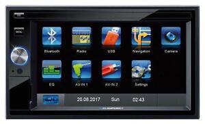 Blaupunkt Santa Cruz 370 Doppel-DIN MP3-Autoradio Touchscreen Bluetooth SD USB