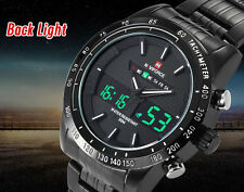 Naviforce LED Dual Movt Sports Watch Orologio Militare Uomo
