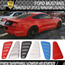 USA STOCK 15-18 Mustang OE Style Painted All Color Window Louver - PP