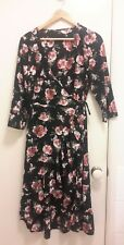 NEW Rosebub ruffle wrap dress, size 12