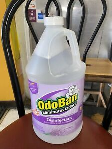 OdoBan 1 Gallon Concentrate Disinfectant Lavender Pet Odor air freshener