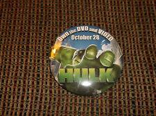 HULK MOVIE PIN 2003 PINBACK