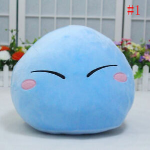 13''That Time I Got Reincarnated as a Slime Rimuru Cosplay Plush Doll Pillow Toy