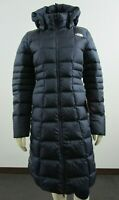 NWT Womens The North Face TNF Metropolis Parka Long Down Warm Jacket - Navy