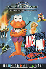 ## James Pond 1 - SEGA Mega Drive / MD Spiel - TOP ##