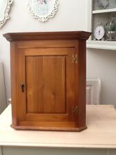 Country Chic Solid Pine Storage Corner Wall Cabinet Country Cottage ...
