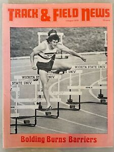 1974 Track and Field News August I       Prefontaine pictures and articles