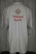 Vintage VTG Tabasco Hot Sauce Graphic Shirt Size XXL Gray Red Mens Single Stitch