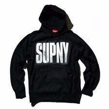 F/W 2010 Supreme SUPNY DKNY New York Skyline Box Logo BOGO Hoodie Black Medium
