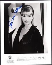Patricia Tallman signed original Babylon 5 publicity photo / autograph
