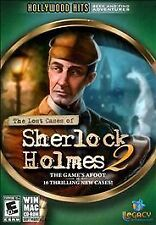 Lost Cases of Sherlock Holmes 2   Over 45 scenes of hidden object gameplay  NEW