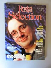 """Selection Reader's Digest Magazine Avril 2001 Francais Neuf  """" Cybercool LINUX"""
