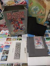 Nintendo NES:Blades of Steel [TOP KONAMI & 1ERE EDITION] COMPLET - Fr