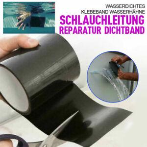 Schwarz Fix Tape Klebeband Wasserfeste Pflaster Wasserrohr Band Wasserdicht DE