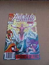 Avengers West Coast  71  . Marvel 1991  -  FN / VF