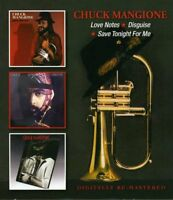 Chuck Mangione - Love Notes/Disguise/Save Tonight for Me (2013)  2CD  NEW/SEALED