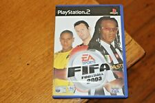 FIFA Football 2003 - Sony Playstation 2 PS2 Soccer Game with Manual
