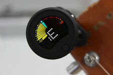 """ENO EMT-300 1.0"""" Full Colored Display Clip-On Tuner for Guitar / Violin / Bass"""