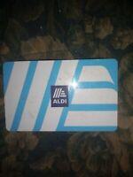Aldi Collectible Gift Card No Value