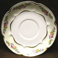 HAVILAND & CO Limoges France FLORENCE Replacement Saucer Schleiger 549 Pink Rose