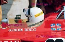 Jochen Rindt Gold Leaf Team Lotus 72C Italian Grand Prix 1970 Photograph 2