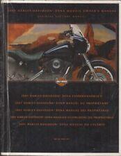 HARLEY DAVIDSON FXD FXDX FXDXT FXDL FXDWG DYNA ORIGINAL 2001 INSTRUCTION MANUAL