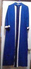 Vintage VANITY FAIR - Dacron Polyester Long Full-Zip ROBE / HOUSEDRESS - Size 12