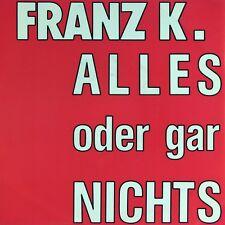 """7"""" FRANZ K. Alles oder gar nichts STEFAN JOSEFUS 45rpm STEPS Rock 1991 NEUWERTIG"""