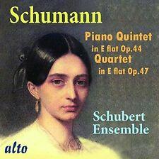 CD SCHUMANN PIANO QUARTET op.47 & QUINTET op.44 played by the SCHUBERT ENSEMBLE